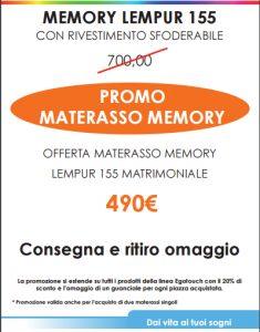 Materasso Memory Lempur