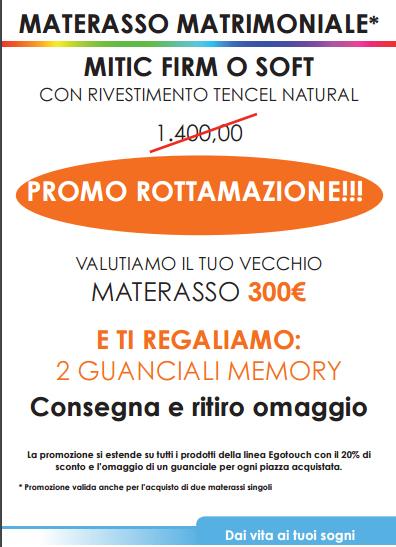 Promo Rottamazione - Fusini Materassi