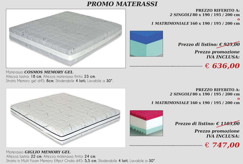 Promo materassi Riflex