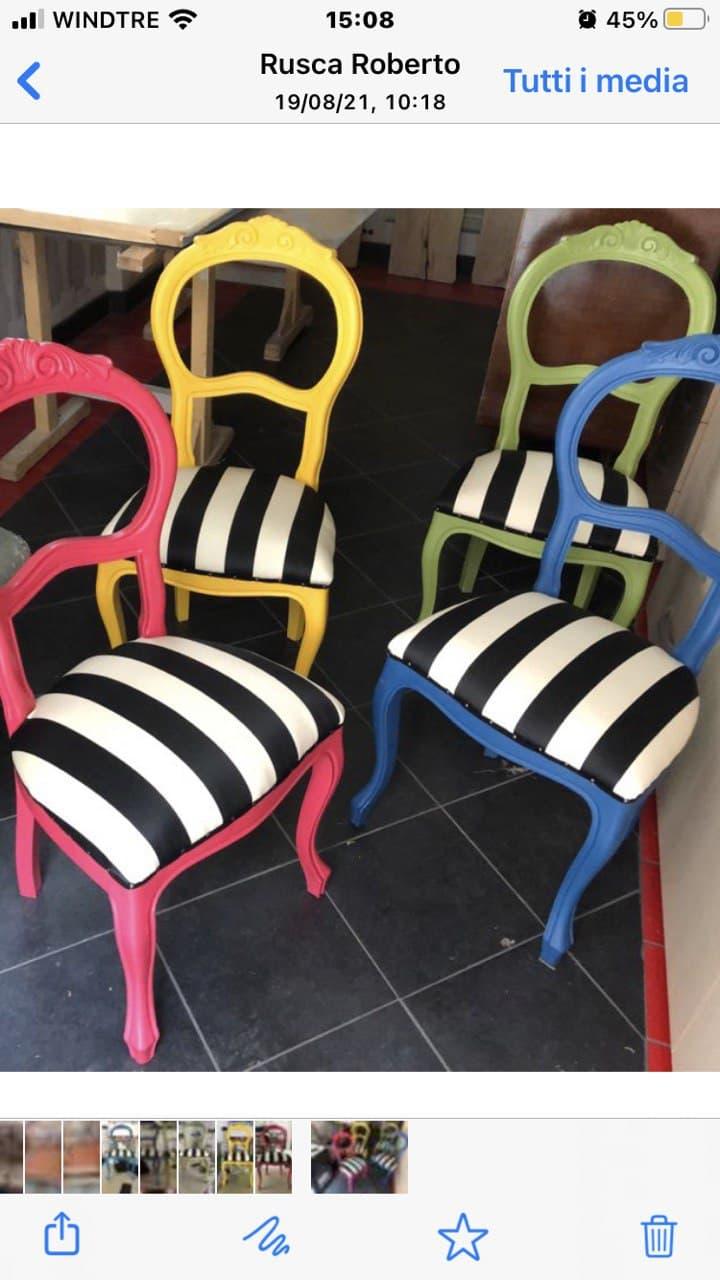 tappezzerie sedie